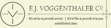 E.J. Voggenthaler Co. - logo