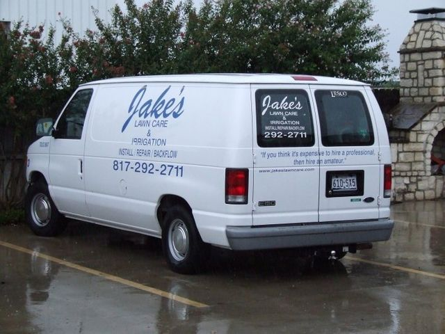 Jake's Lawn Care Van