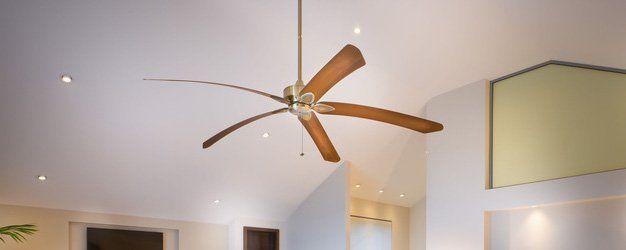 Metal ceiling fan