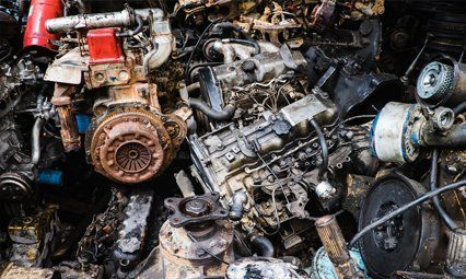 Recycled auto parts