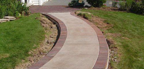 Decorative walkway