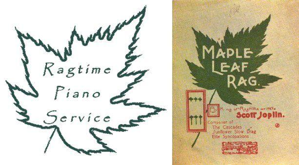 Ragtime Piano Service - Logo