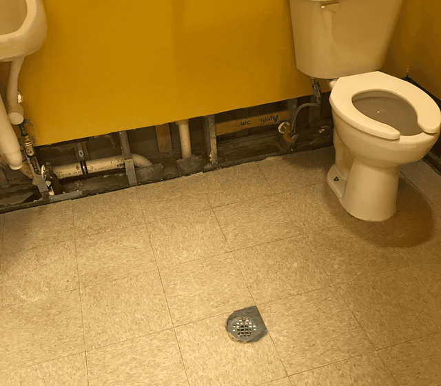 Sewer Backup Cleaning