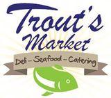 Trout's Seafood & Deli Market - LOGO