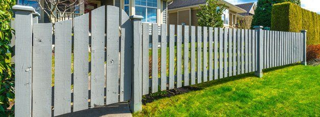 Wood Fencing Stockade Fence Melbourne Fl