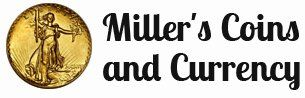 Miller's Coins and Currency - logo