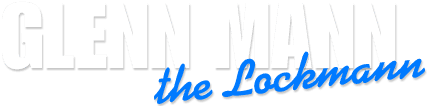 Glenn Mann the Lockmann - logo