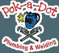 Pok-A-Dot Plumbing & Welding - Logo