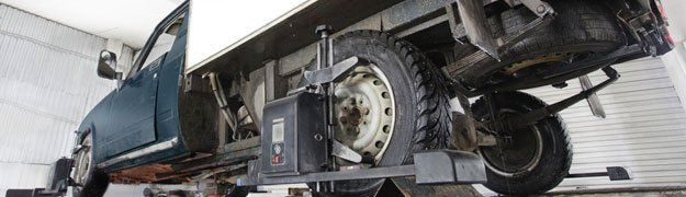 Truck alignment