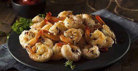 Shrimp sauteed