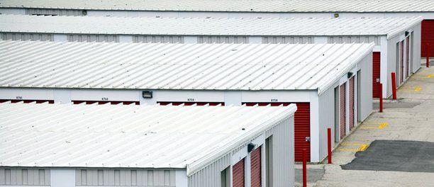 Storage metal roofing