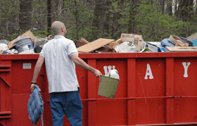 Garbage disposal service