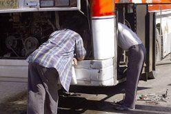 Bus repair