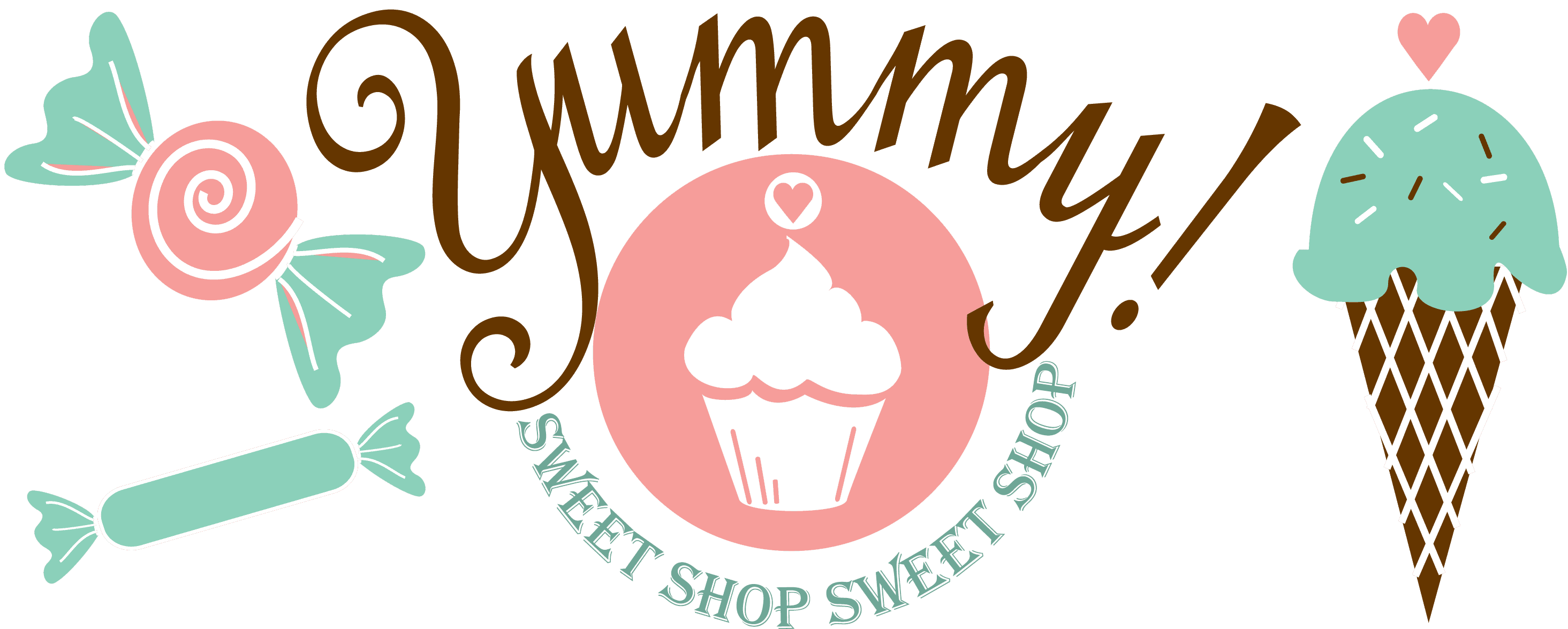 Yummy Sweet Shop logo