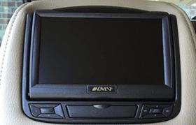 Mobile video headrest
