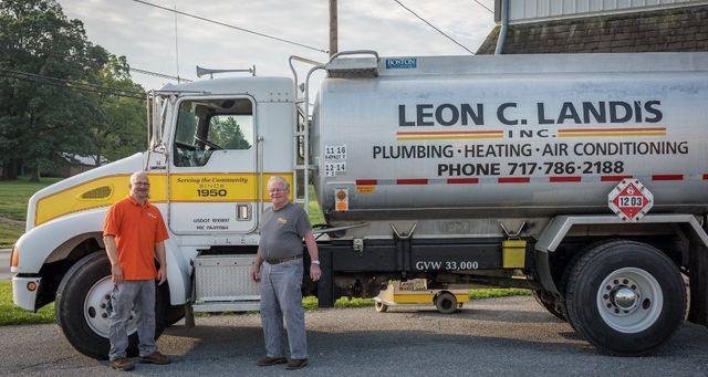 Leon C. Landis Inc. vehicle