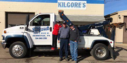 Kilgore's Towing Tow Truck