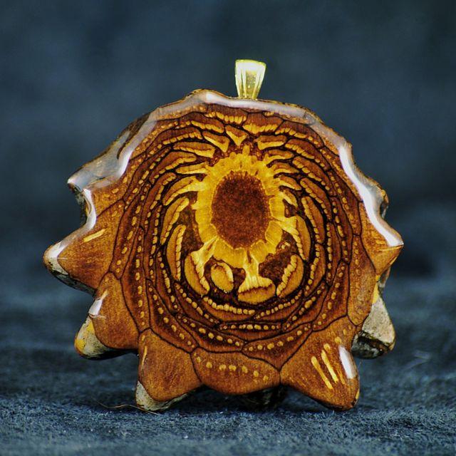 Third Eye Pinecone Natural Pendants