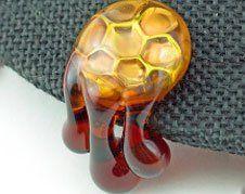 Glass Hat Pins