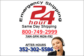 24-hour emergency shipping