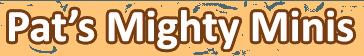 Pat's Mighty Minis - logo