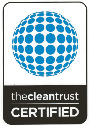 The cleantrust certified Logo