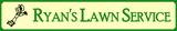 Ryan's Lawn Service - Logo