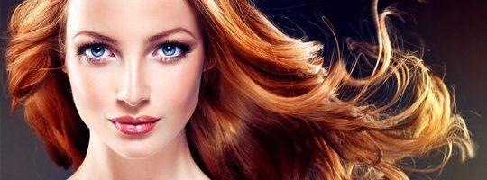 Perm and haircolor