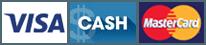 Visa | Cash | MasterCard
