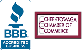 BBB Logo | Better Business Logo | Cheektowaga Chamber of Commerce Logo
