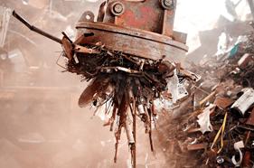 Scrap metal recycle