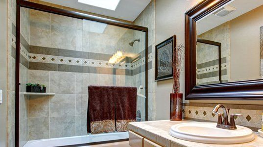 Full-Frame Shower Door