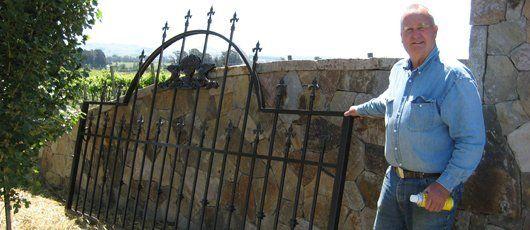 Fence Powder Coating