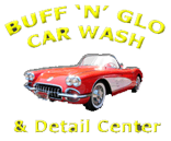 Buff N Glo Car Wash - logo