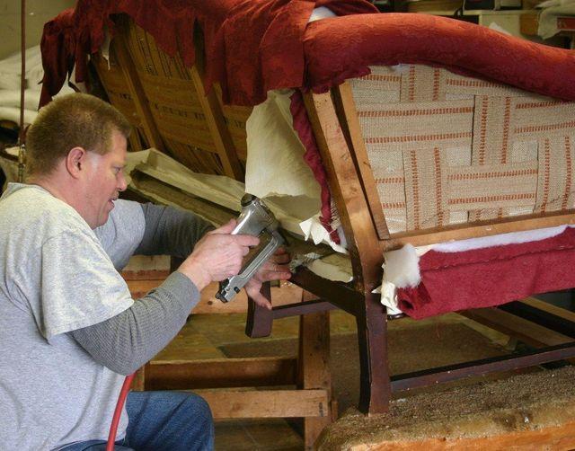 Reupholstering