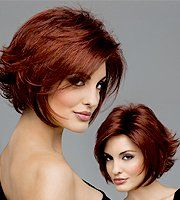 Women with beautiful wig