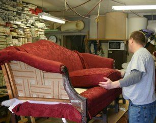 Custom Reupholstering