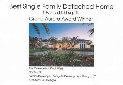 Best Single Family Detached Residence