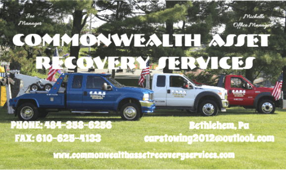 Commonwealth Asset Recovery Services (C.A.R.S) Logo
