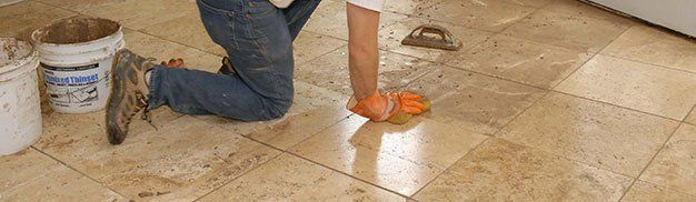 Re-seal grout and Tile