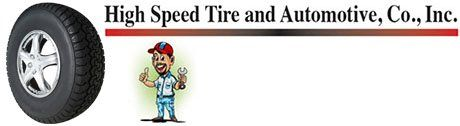High Speed Tire and Automotive Co Inc - Logo