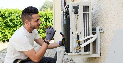 Air condition system installation