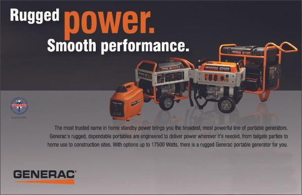 Rugged Power Generac Generators