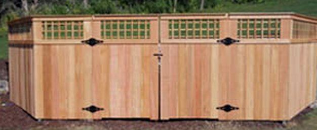 Wood Gates, Hardware, and Accessories