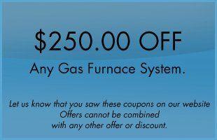 Gas Furnace System Offer