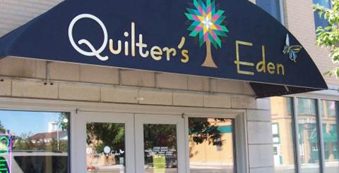 Quilter's Eden storefront