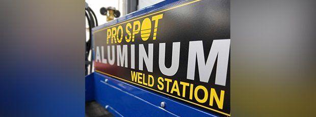 aluminum welding machine