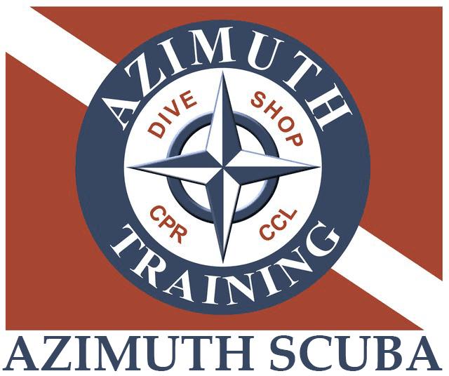 Azimuth Scuba — logo