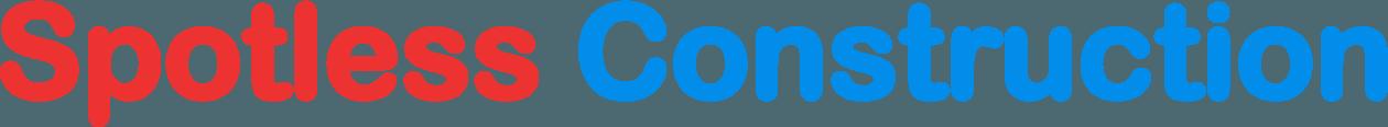 Spotless Construction - Logo