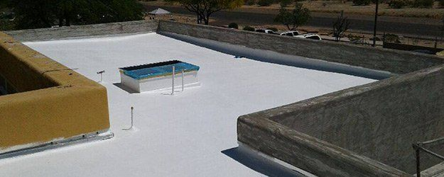 flat roof repair service by Durazo's Roofing LLC